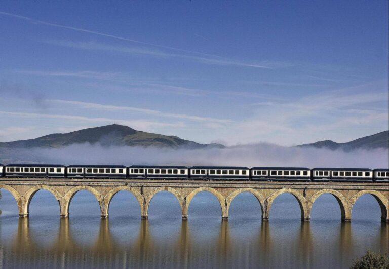¡Turistas al tren!
