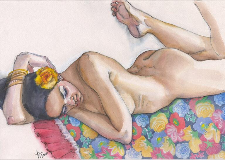 Фигуративное искусство Виктории Удаловой