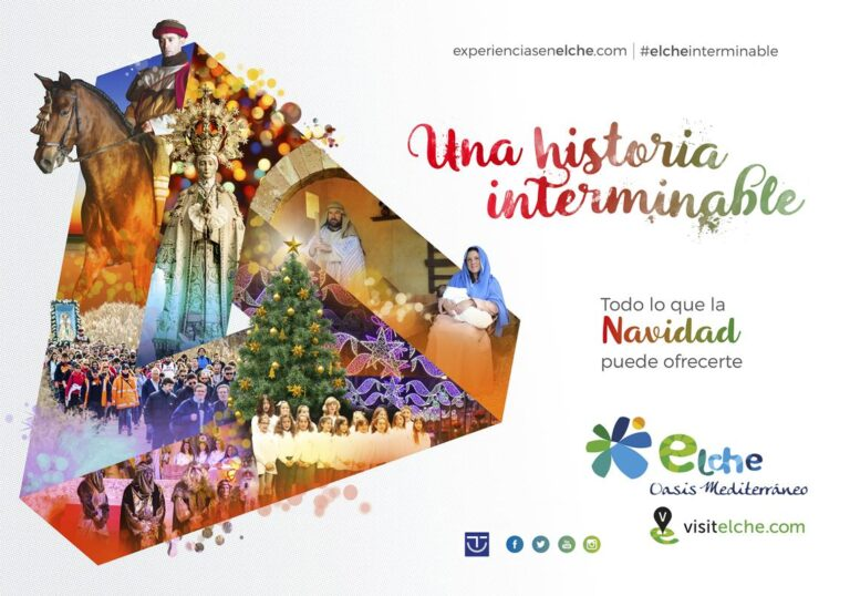 Navidades en Elche, en el Palmeral más grande de Europa