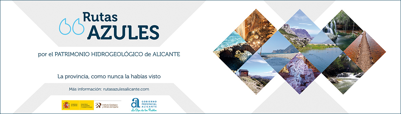 Rutas azules Alicante