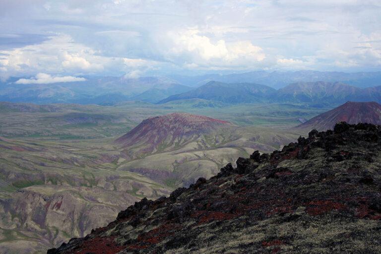 600 km on foot across Kamchatka