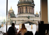 Great restaurants of Moscow and St. Petersburg