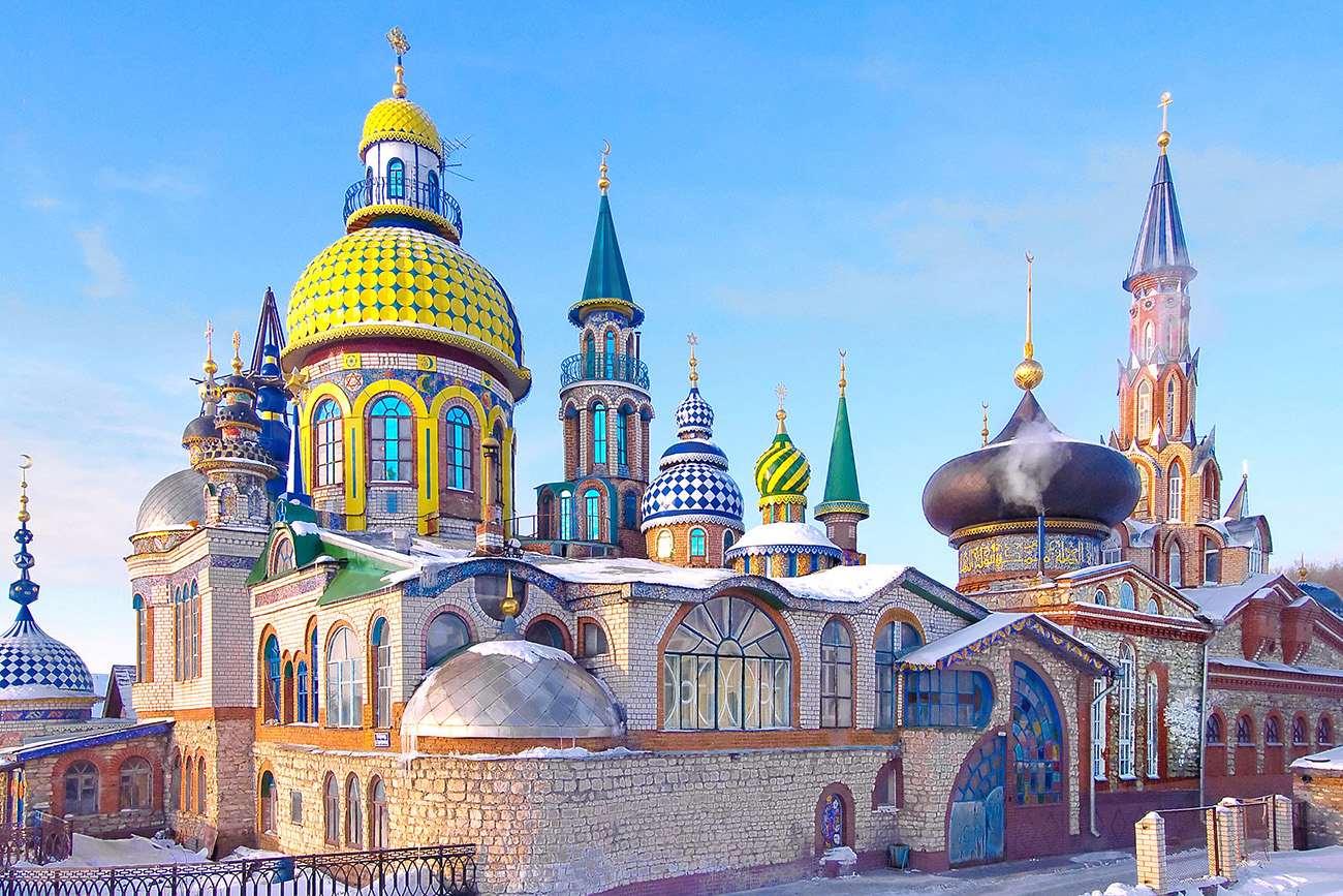 6 of the most unusual Russian churches