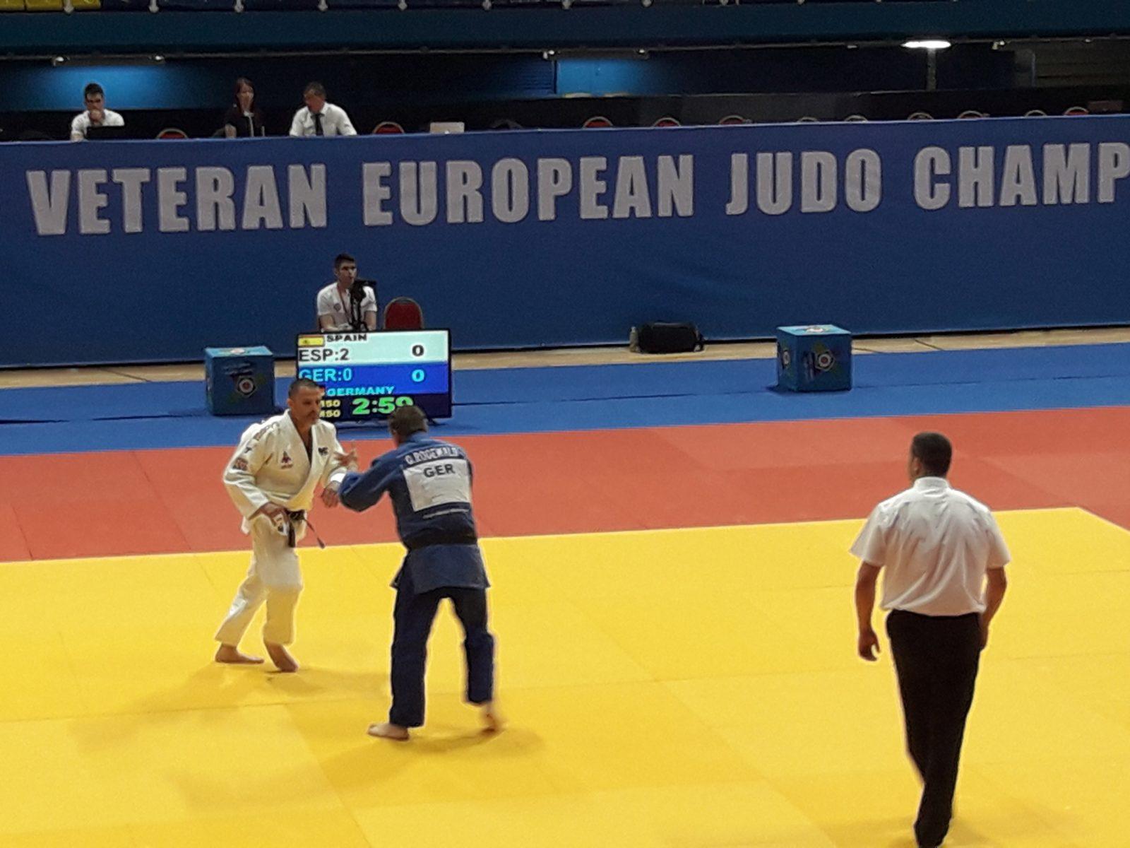 Tres medallas murcianas en el Campeonato de Europa Máster de Judo