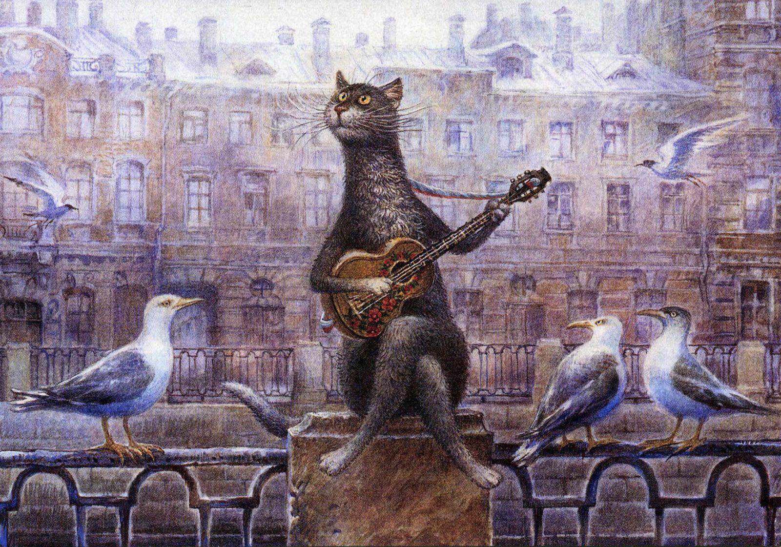 8 gatos que cambiaron la cultura rusa