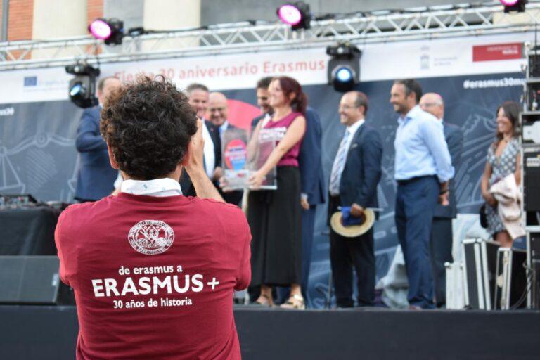El Programa Erasmus+ escoge la Universidad de Murcia para celebrar su 30 cumpleaños
