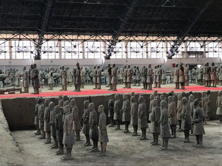Los guerreros de Xi'an están más cerca del MARQ