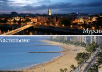 Как лучше всего провести лето в Мурсии и Кастельоне