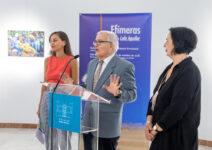 Inauguración 'Efímeras' de Lola Aguilar