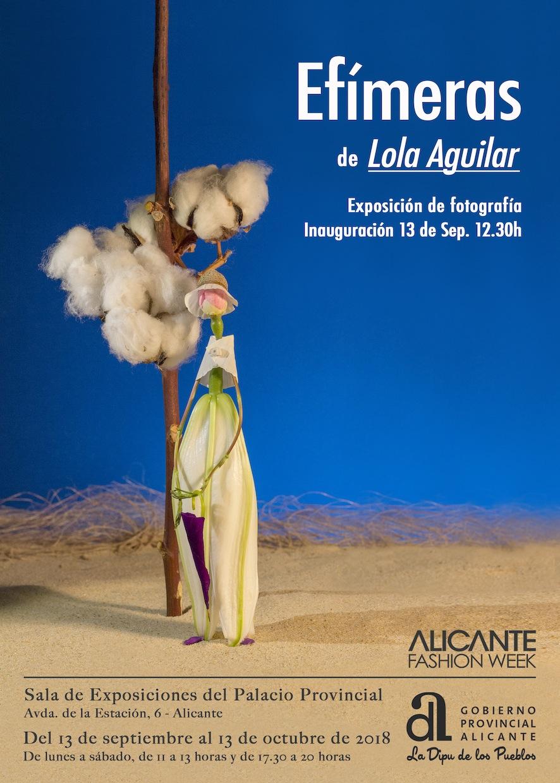 'EFÍMERAS' DE LOLA AGUILAR INAUGURA LA IV ALICANTE FASHION WEEK