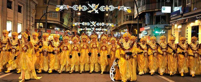 Сентябрьские праздники в Мурсии