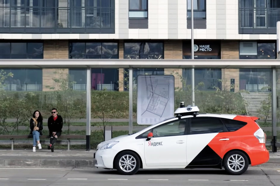 Europe's first unmanned taxi launched in Russia