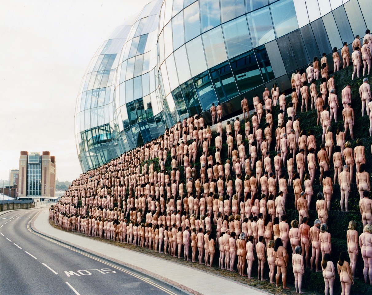 Spencer Tunick in Valencia