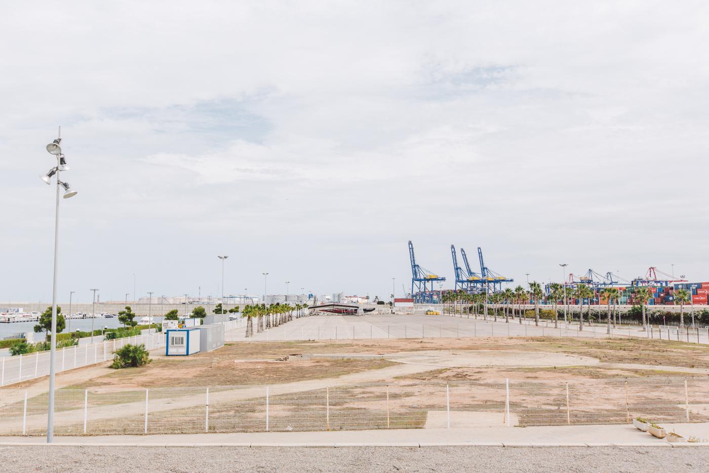La Marina de València contará en primavera con un nuevo auditorio al aire libre