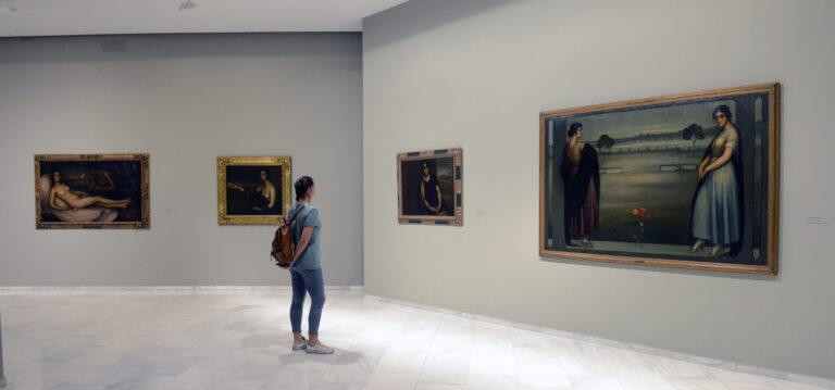 La exposición monográfica de Julio Romero de Torres recibe más de 2.500 visitantes durante su primera semana