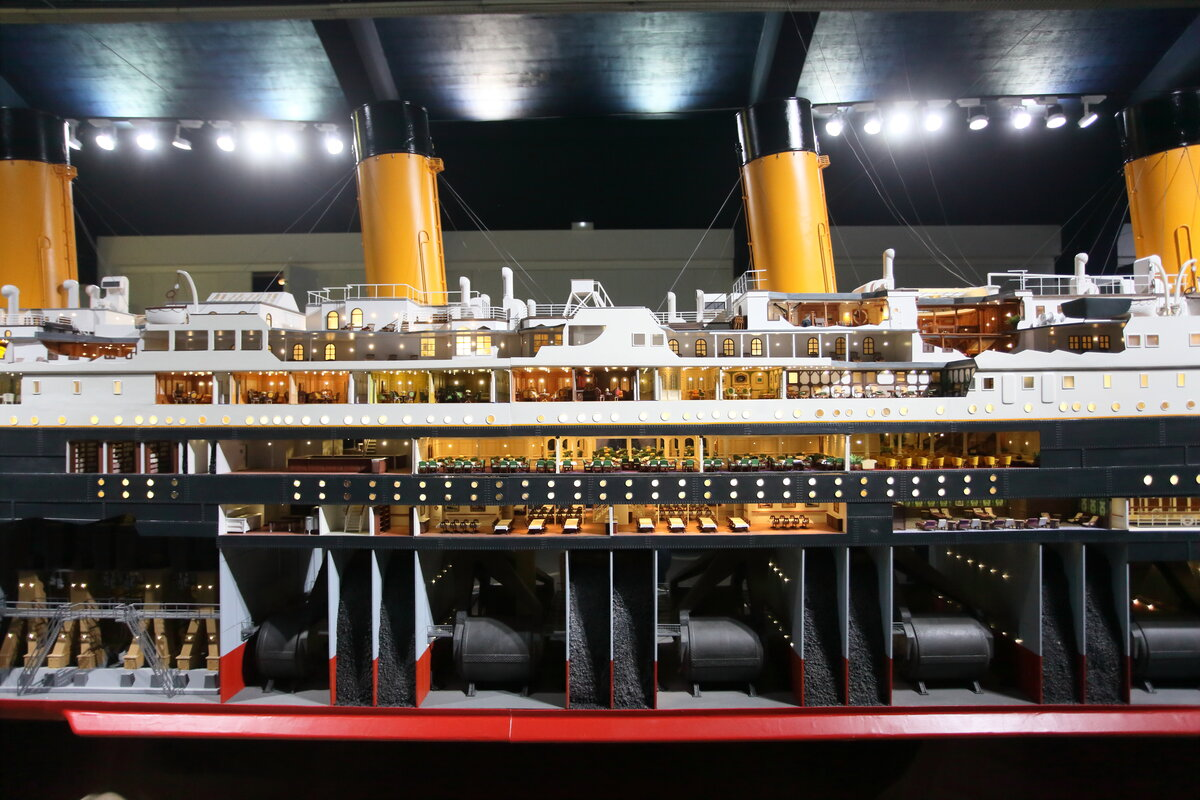 Viaja desde Liverpool a Alicante para visitar la exposición del Titanic