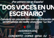 El Casino Mediterráneo de Benidorm acoge un concierto sin precedentes con los semifinalistas del reality show ruso 'La Voz'