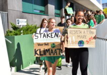 LES Sixth Formers lead the way for Climate Change