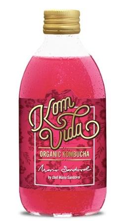 Komvida Organic Kombucha y el chef Mario Sandoval se unen para crear un nuevo sabor exclusivo de kombucha