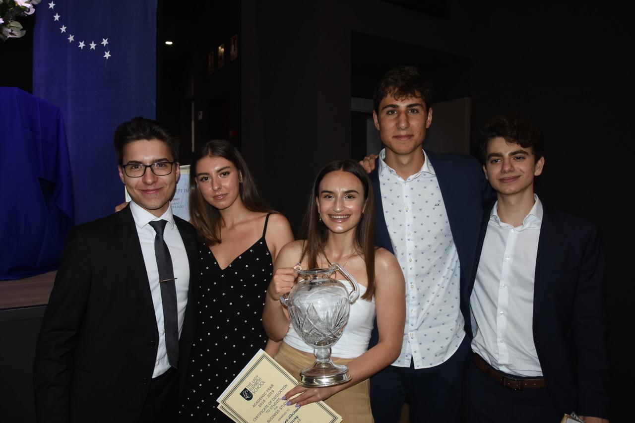 Días de premios en Lady Elizabeth School