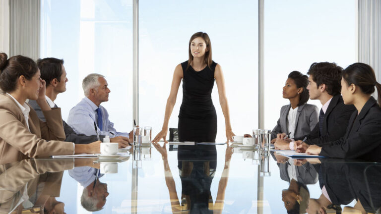 Más mujeres en la alta dirección